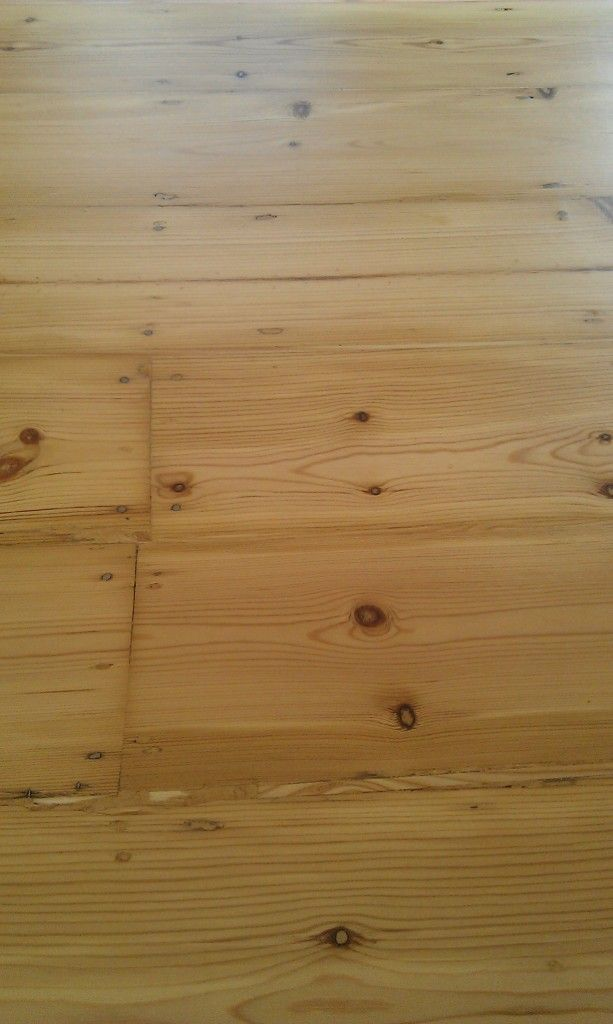 Pine Slivers Between Boards Gaps In Wood Floors Fill With Slivers