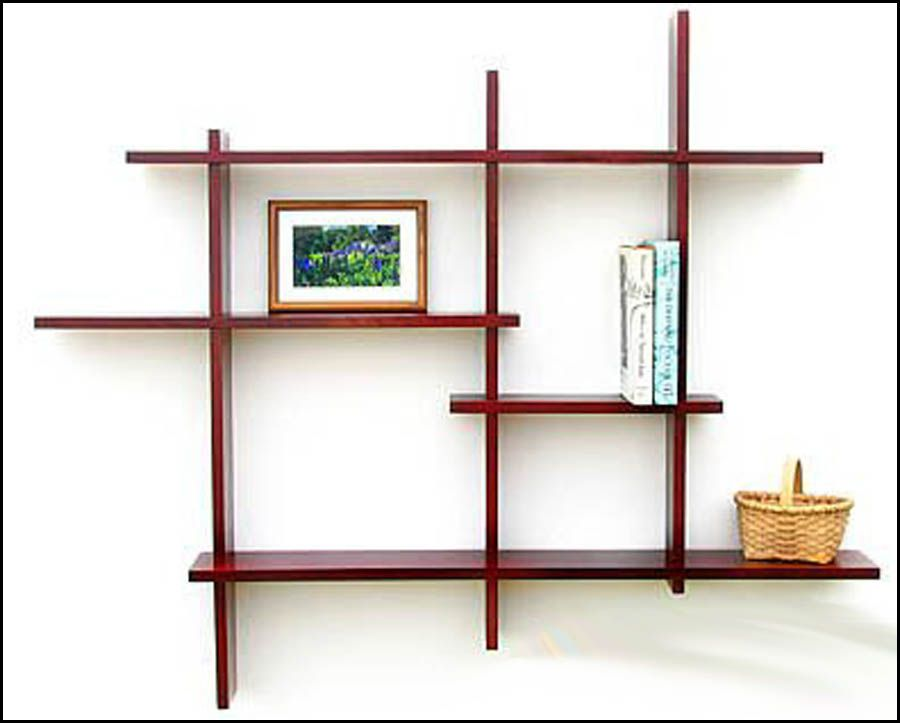 wooden wall mounted shelf designs | woodworking community projects