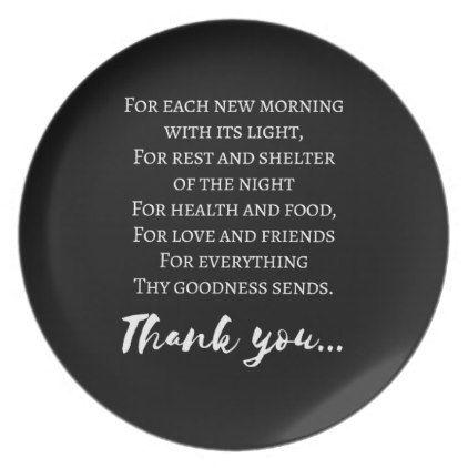 Thanksgiving Poem. Simple Thanksgiving Melamine Plate   Thanksgiving Day  Family Happy Thanksgiving Holiday