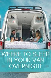 Photo of Wondering where to sleep overnight if you are living in a van? Check out these f…