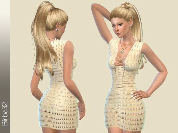 Birba32's Crochet Summer Dress
