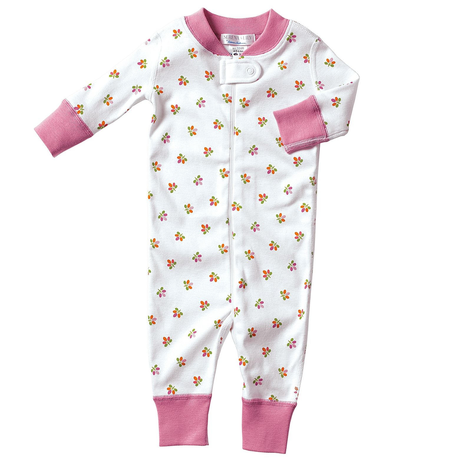Jana Only Sweet Girls: Hanna Andersson Baby Sleeper - Juice Mini Floral