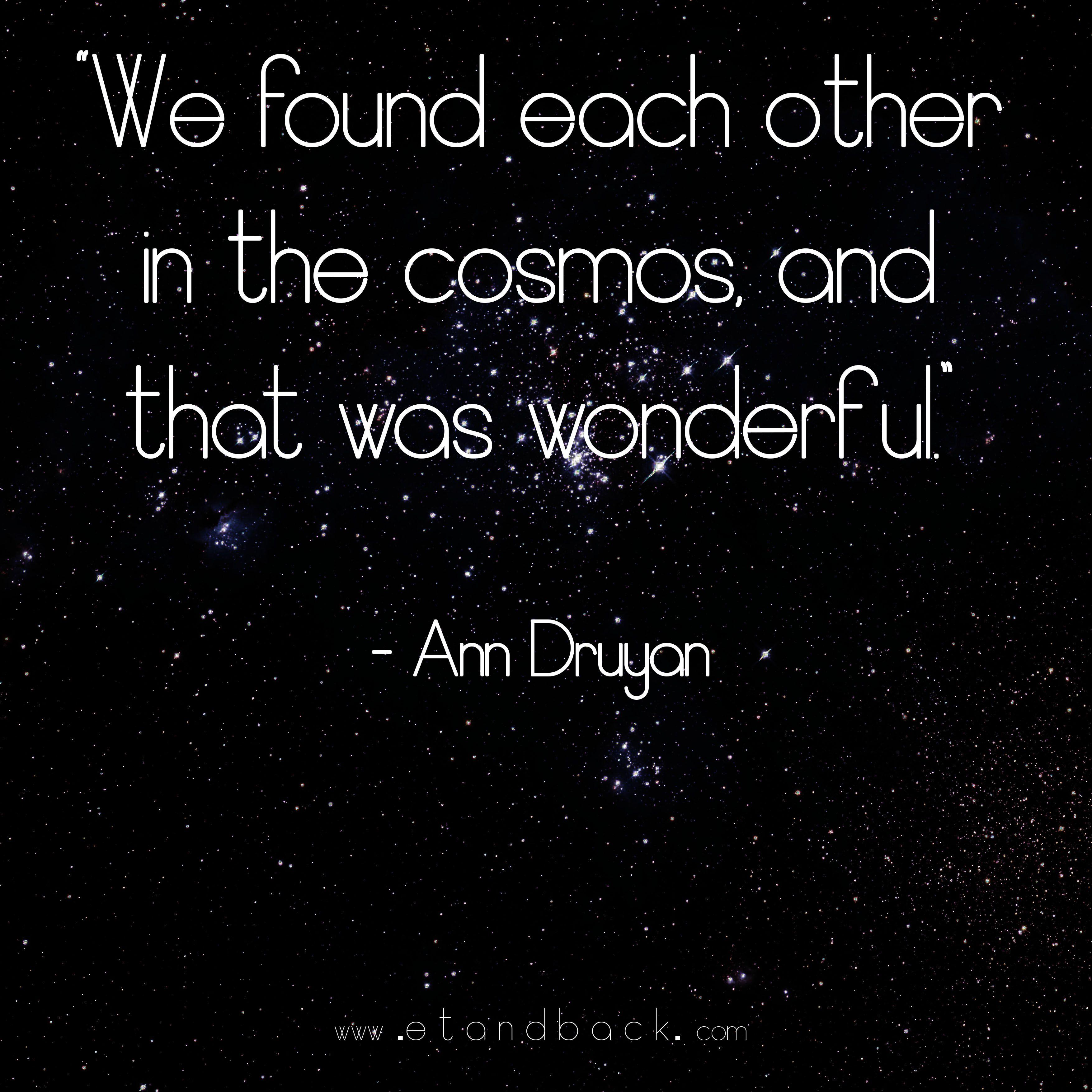 Ann Druyan Wife Of Carl Sagan Like Quotes Inspirational