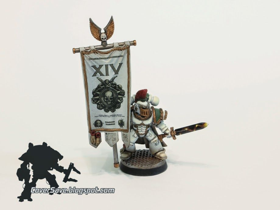 Custom printing and cutting decals for death guard chapter banner cover save