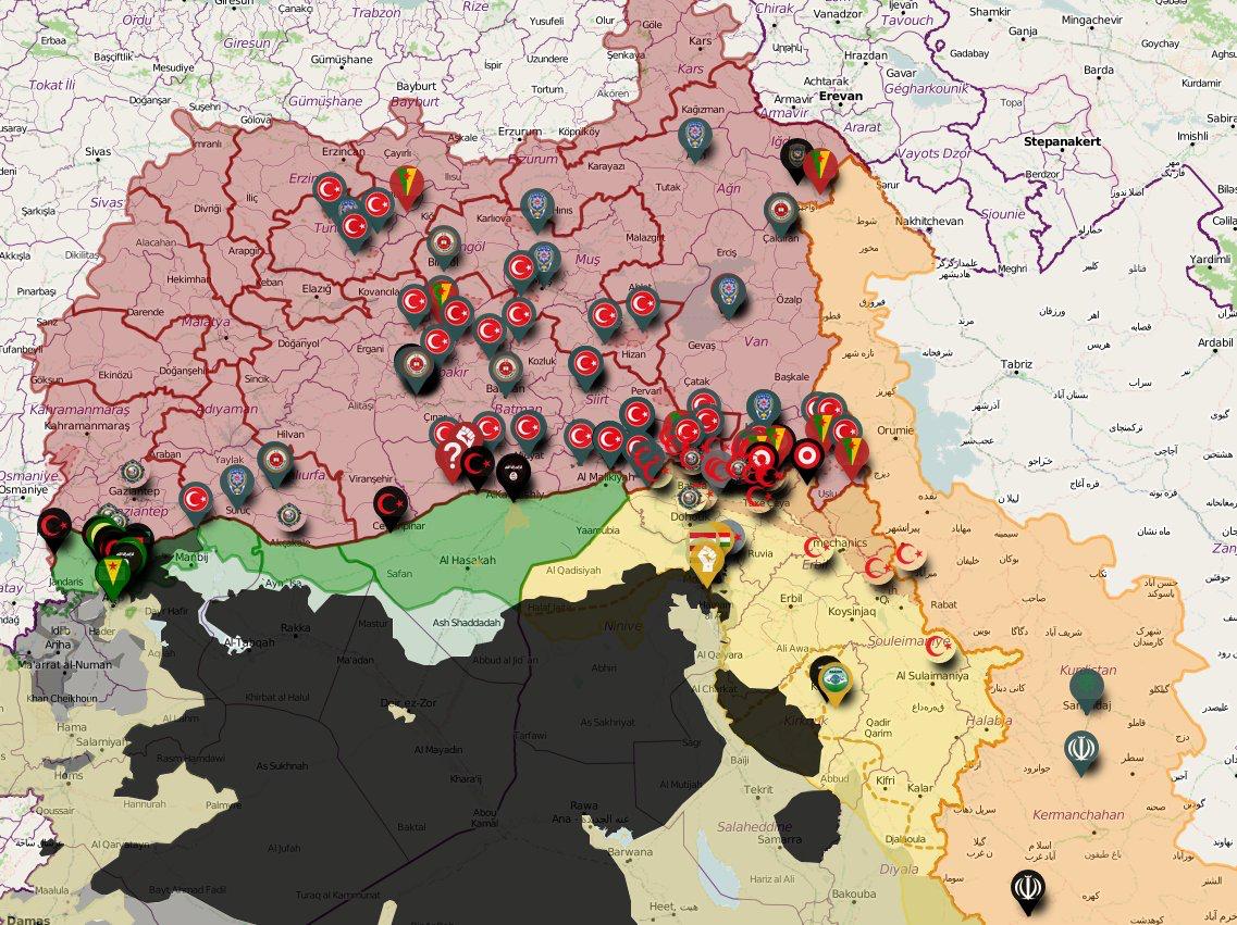 11/06 updated interactive #Kurdistan map. Follow akb.bzh ...