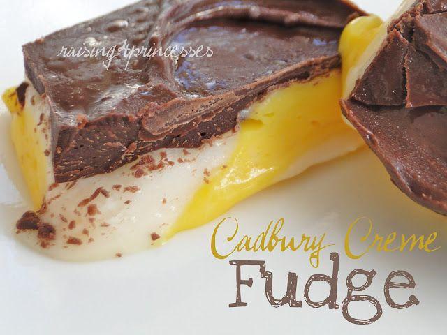 Cadbury Creme Fudge