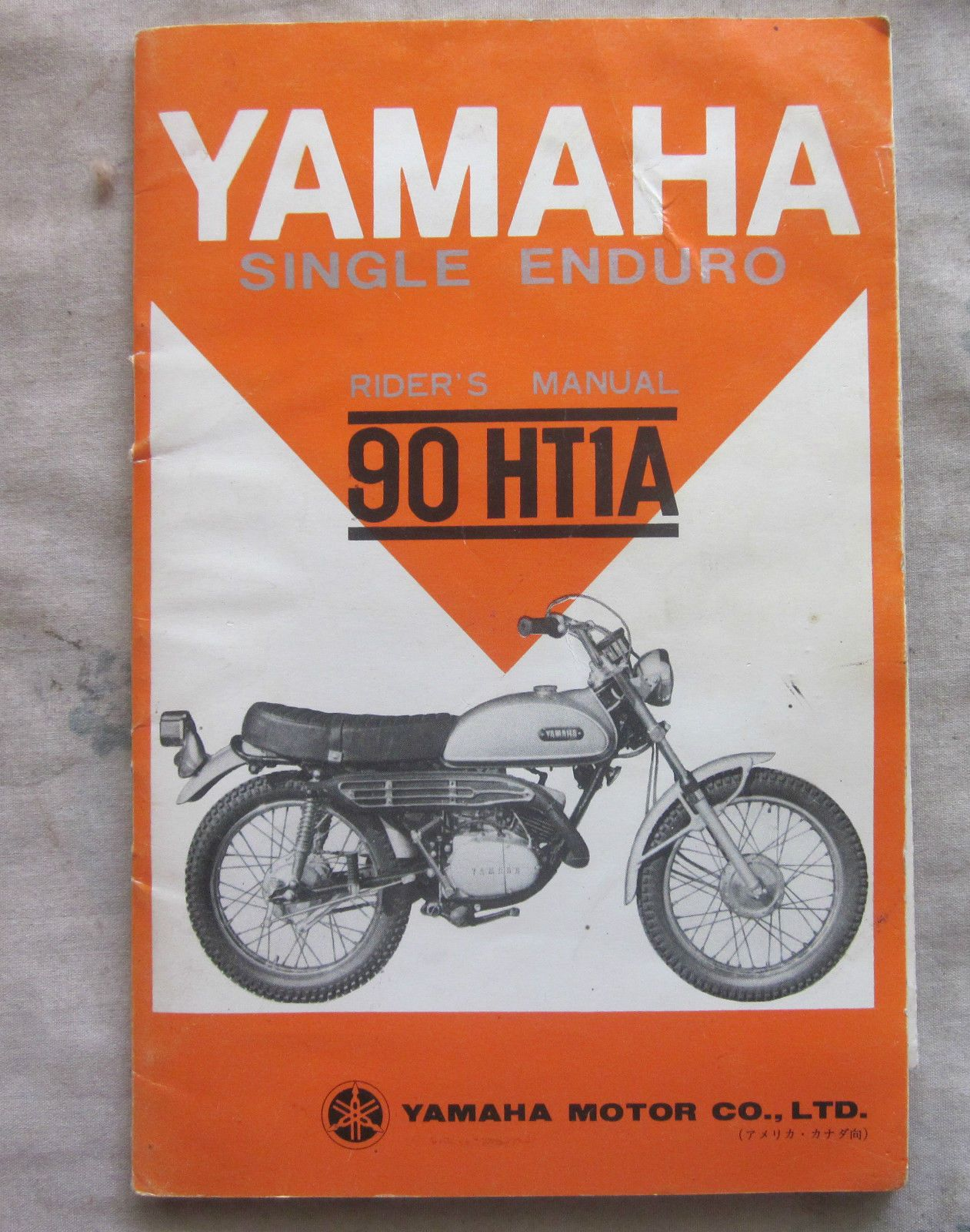 Motorbikes · User Guide · Choppers · Vintage Yamaha Single Enduro 90 HT1A  Riders Manual | eBay Manual, Ebay, Vintage,