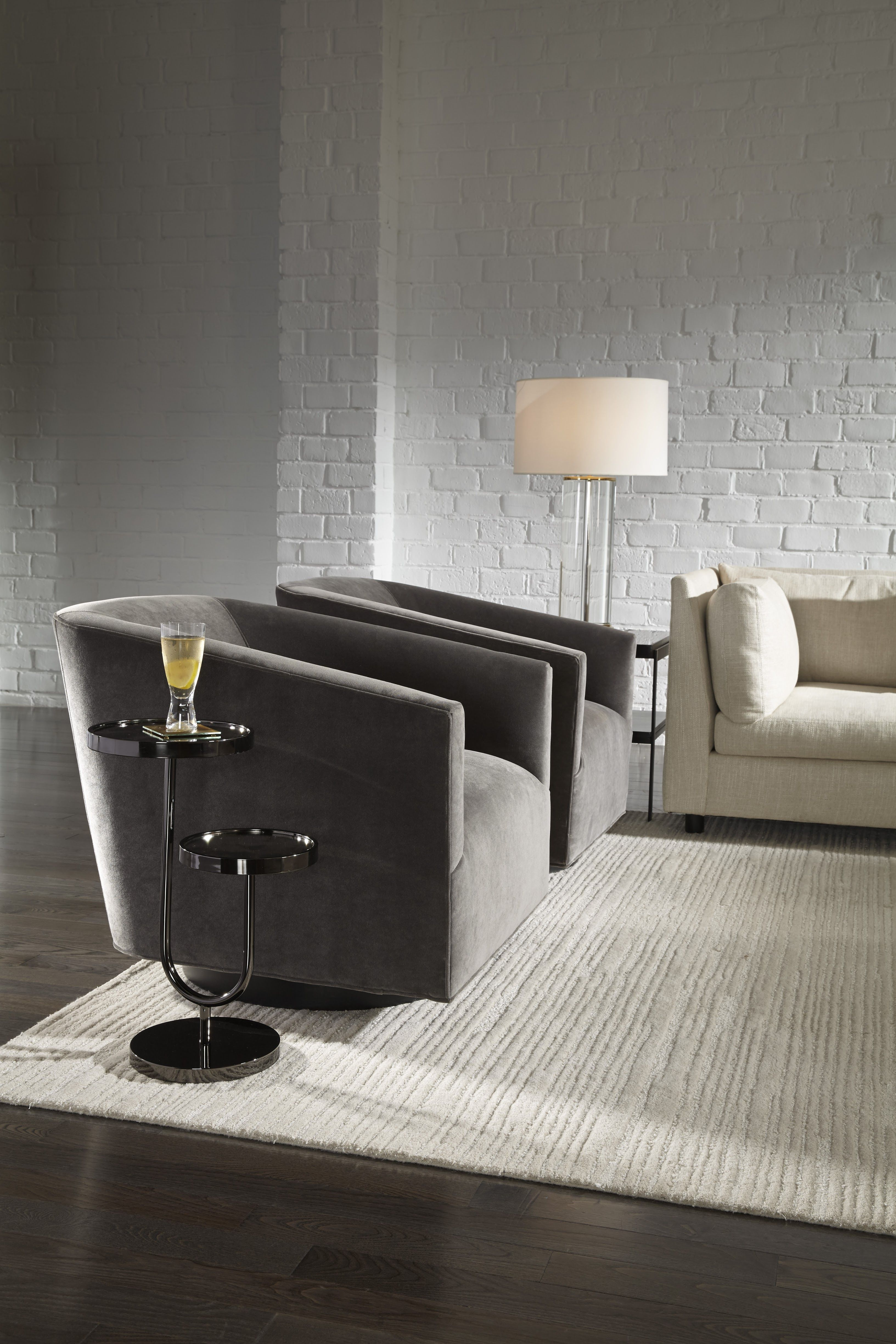 Charmant MG+BW: Ringo Pull Up Side Table   This Sculptural Bi Level