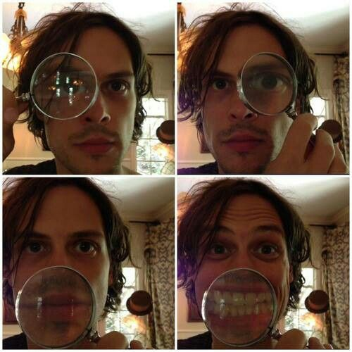 Matthew Gray Gubler, why must you be so damn adorable.