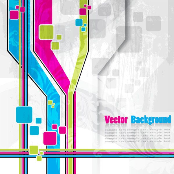Vector background of abstract colorful art also flyer pinterest rh in