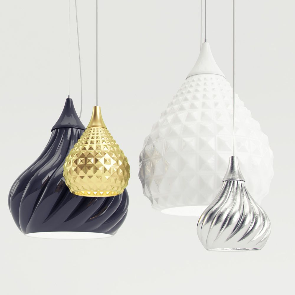 viso lighting. Ruskii And Twist Are Two Suspension Lamps Designed By Italian Designer Enrico Zanolla For Viso Inc. The Constructed Of Ceramic, Lighting