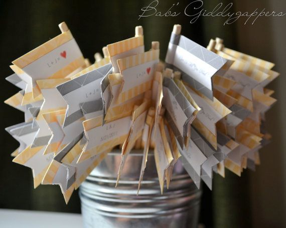 Grey Wedding Favors, Wedding