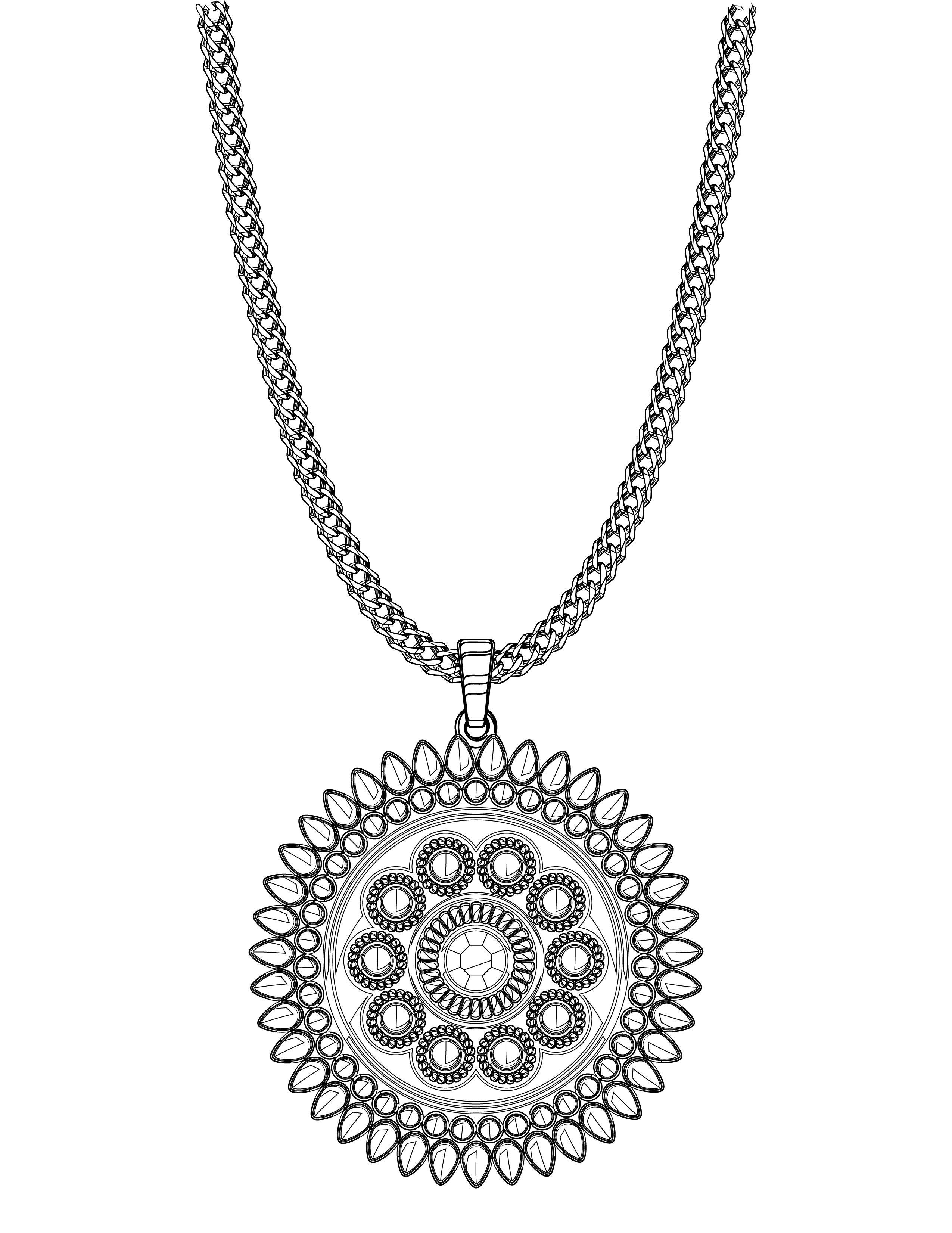 collier femme gratuit à imprimer bijou femme gratuit collier