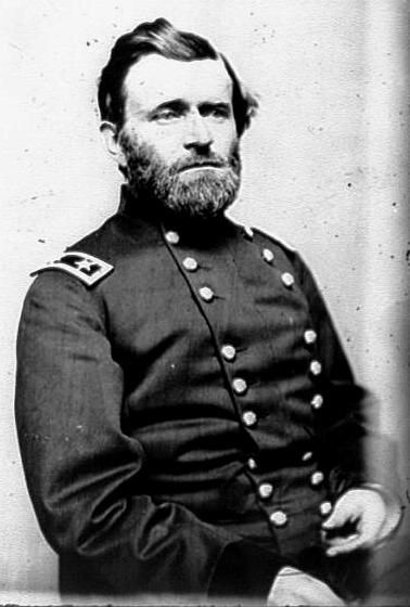 Usa general ulysses grant under grant the union army defeated major general ulysses s grant officer of the federal army the american civil war photograph by mathew brady publicscrutiny Images