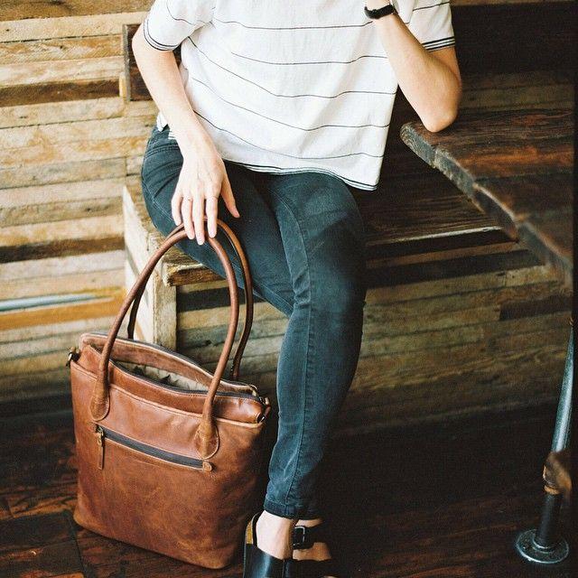 Un-fancy outfit. Gap jeans, madewell crop tee, birks.