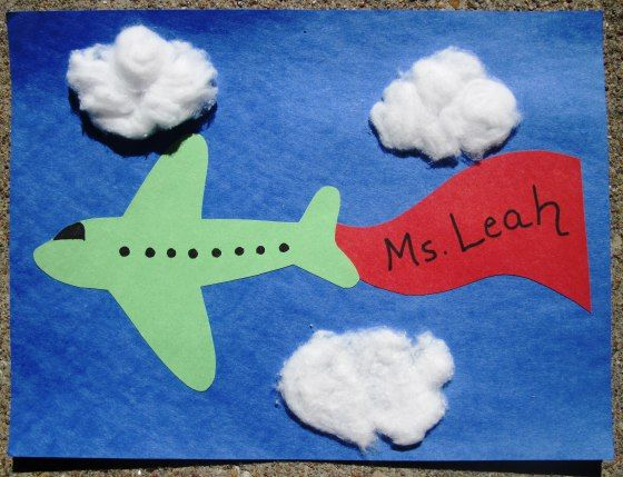 Sunflower Storytime: Airplane Craft + Songs