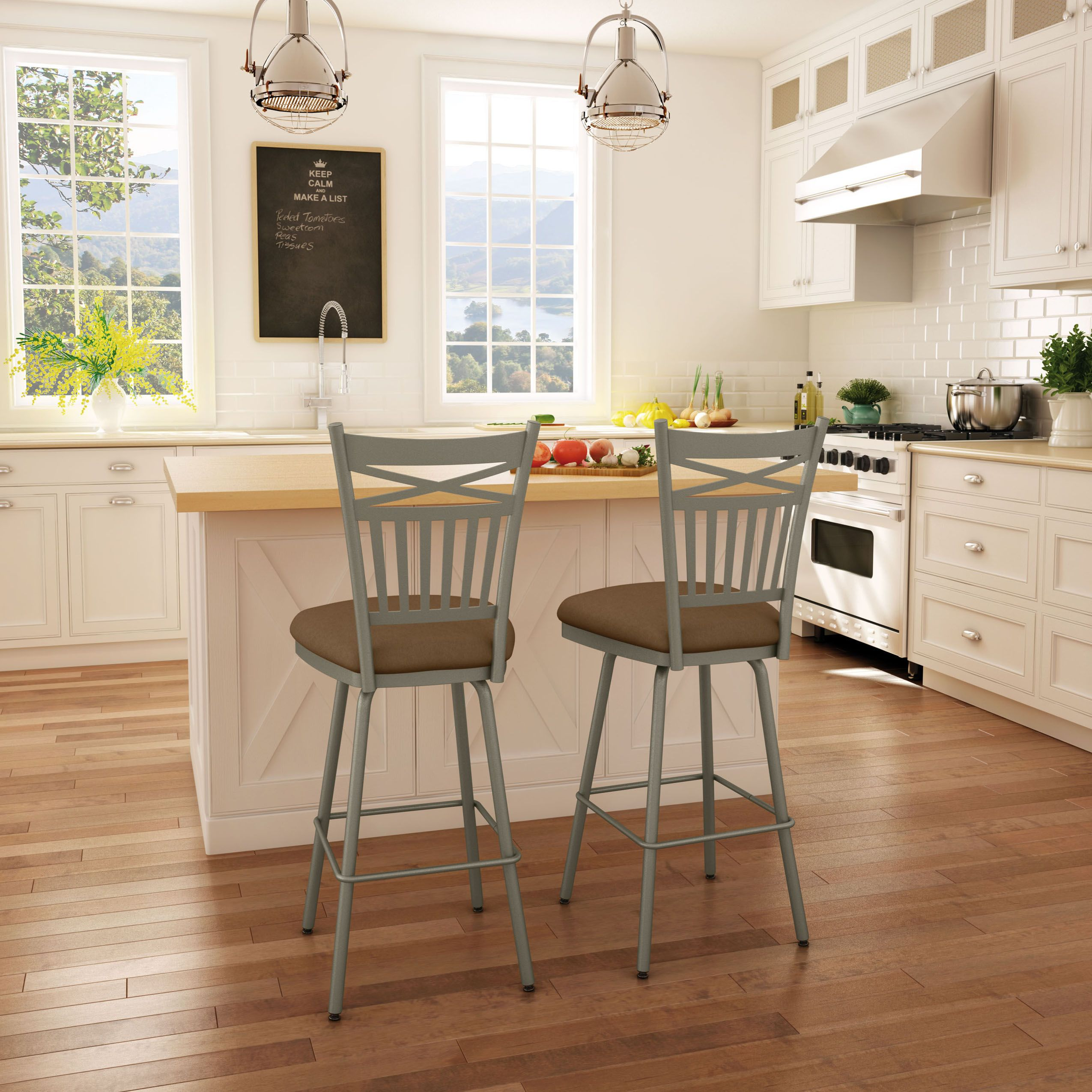 AMISCO   Garden Stool (41488)   Furniture   Kitchen   Countryside  Collection   Traditional