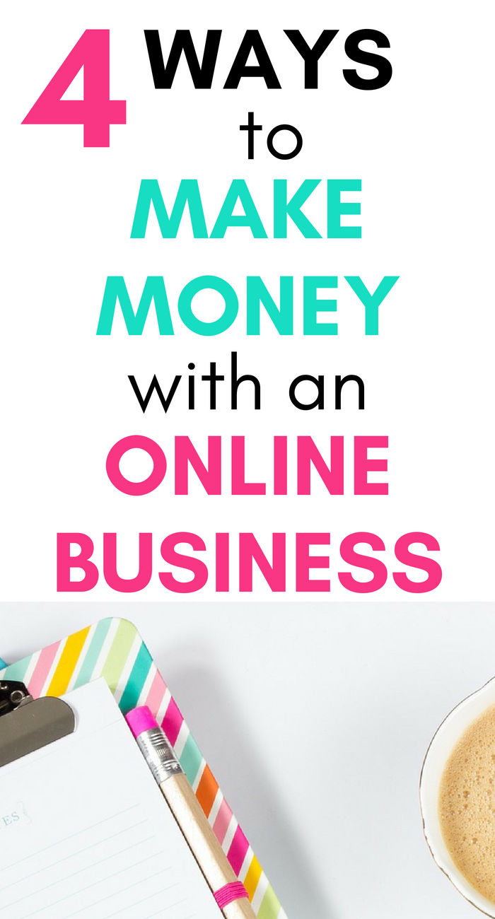4 Ways to Make Money From Home With an Online Business | Business ...