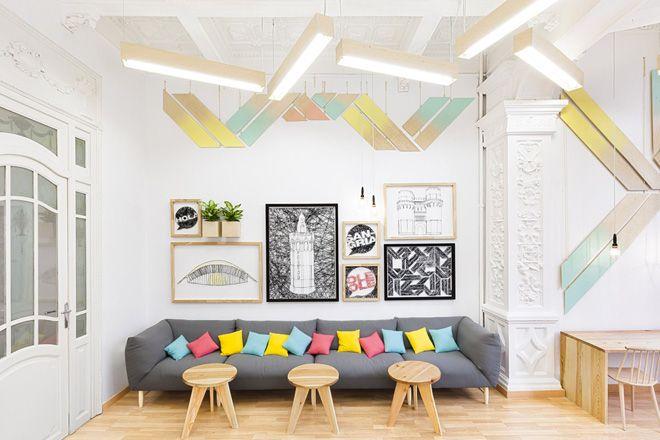 La déco pastel d\'une école   Entreprise / Boutique / Atelier   Pinterest