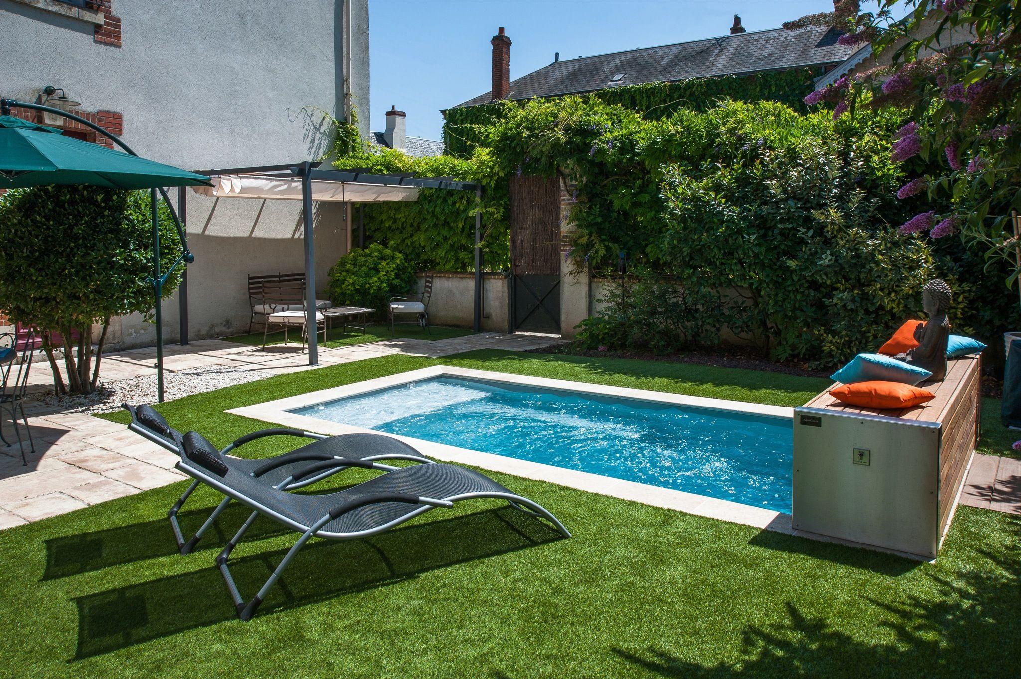 La citadine par l esprit piscine – 4 50 x 2 20 m Fond plat 1 45m