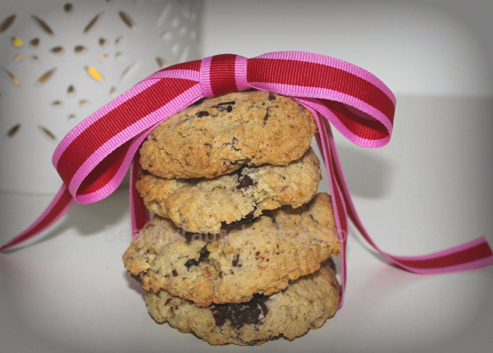 Cookies mit Haferflocken, Meersalz, Schokolade, Kokos und Cranberry  Cookies with Oatmeal, Chocolate, Sea salt, Coco & Cranberries