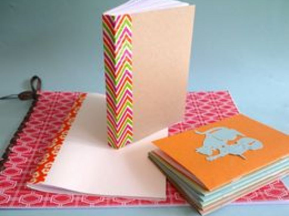 Making And Binding A Homemade Book Is Likely Easier Than You Think You Can Make Journals And Notebooks To G Homemade Books Diy Coloring Books Homemade Journal