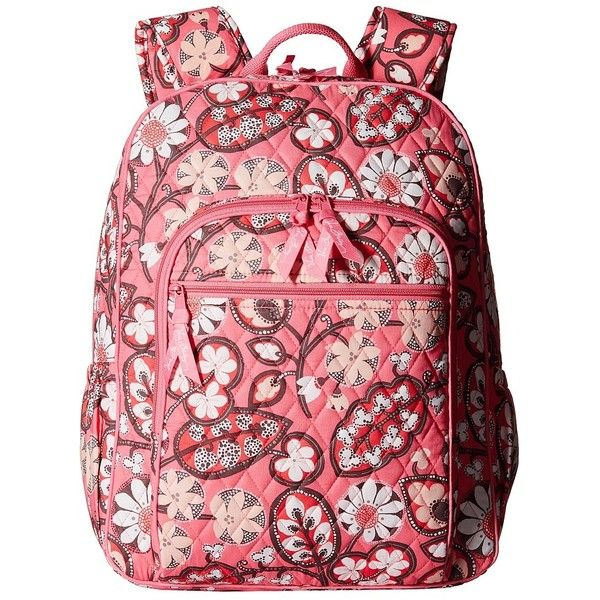 Vera Bradley Campus Backpack (Blush Pink) Backpack Bags ( 109) ❤ liked on c30dba3aed