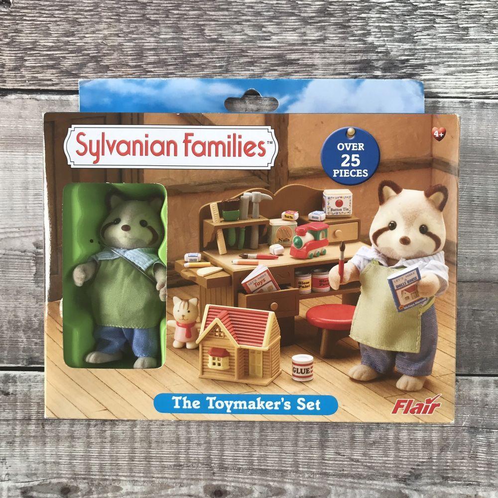 Sylvanian Families Retired Flair 4520 The Toymaker S Set Rare Bnib Christmas Sylvanianfamilies Sylvanian Families Barbie Toys Little Pet Shop