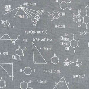 Tkanina Science Grey Robert Kaufman