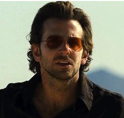 57963a49230 Bradley Cooper in The-Hangover Ray Ban Sunglasses with orange tint ...