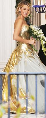 Serena Van Der Woodsen Wedding Dress In Gossip
