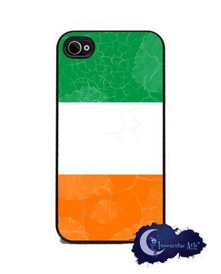 Irish Flag- iPhone 4/4s Slim Case Cell Phone Cover - Ireland ...