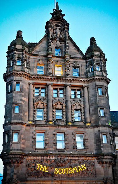The Scotsman Hotel In Old Town Edinburgh Scotland United Kingdom