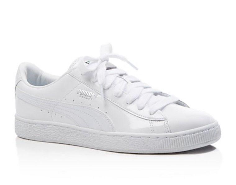 puma white sneakers shoes