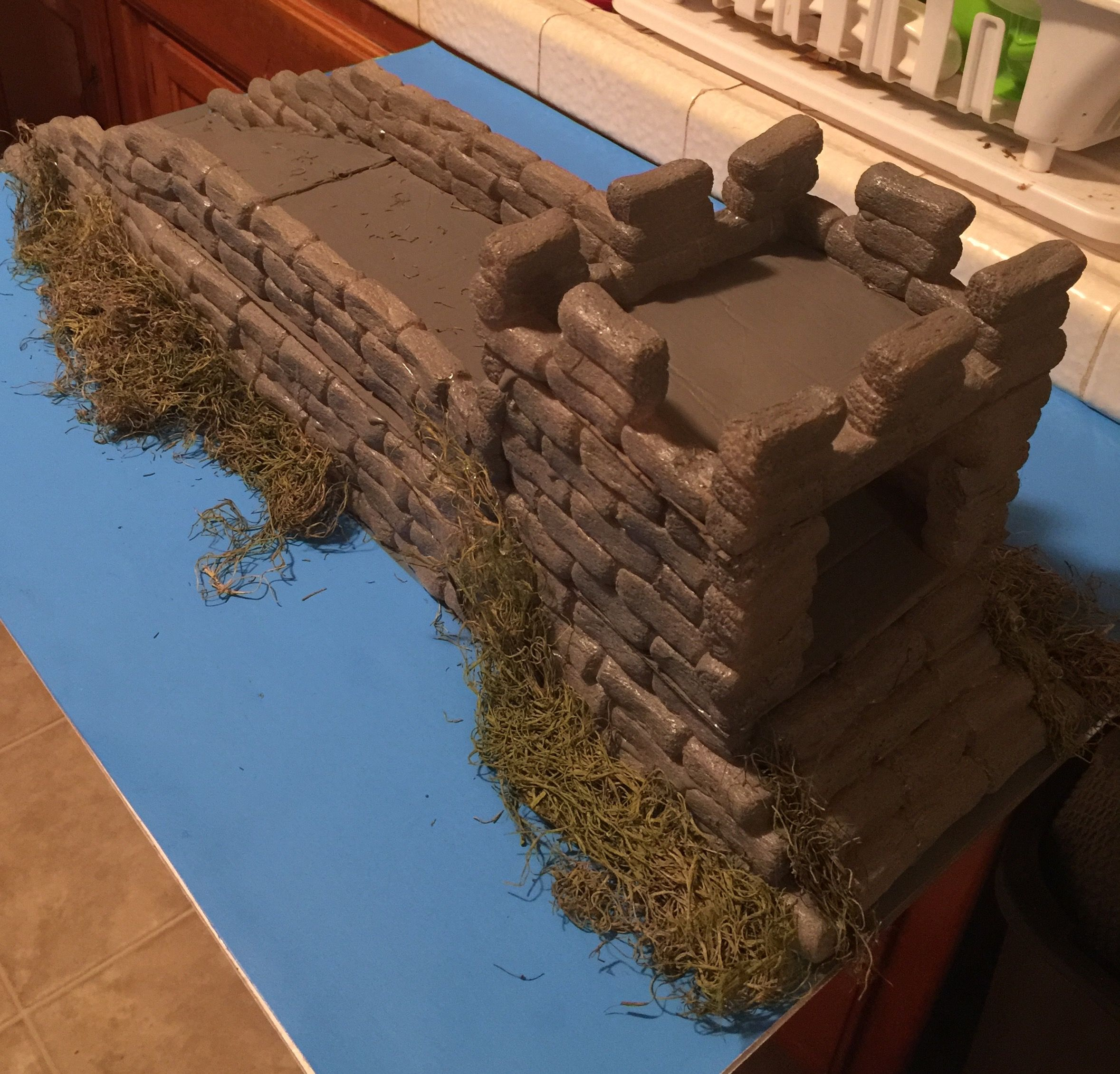 My Great Wall of China project   My homemade crafts   Great