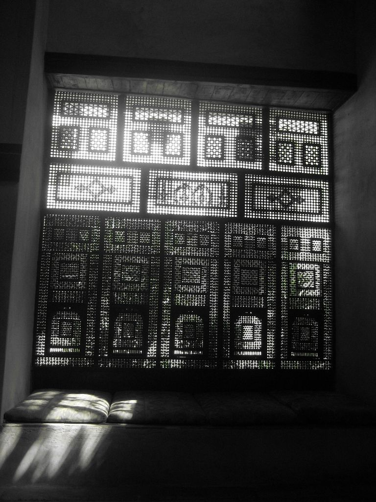 Mashrabia Light And Shadow Egypt Architecture
