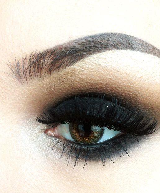 Smoky Eyes #smoky #gradient #makeup