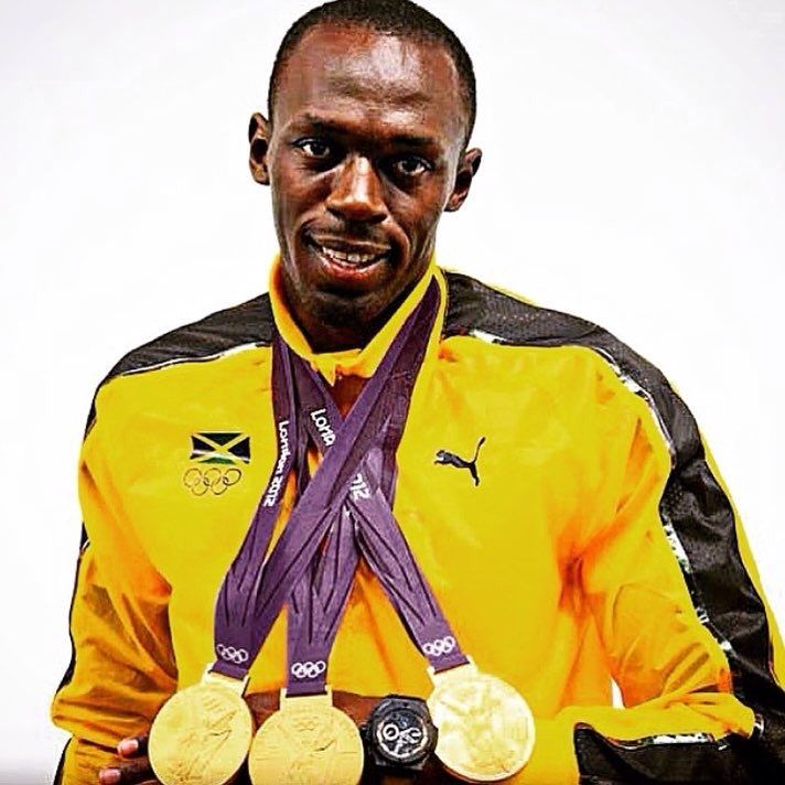 Tied For Most Sprint Gold Medals W 9 Golds Over 3 Consecutive Olympic Games Usain Bolt