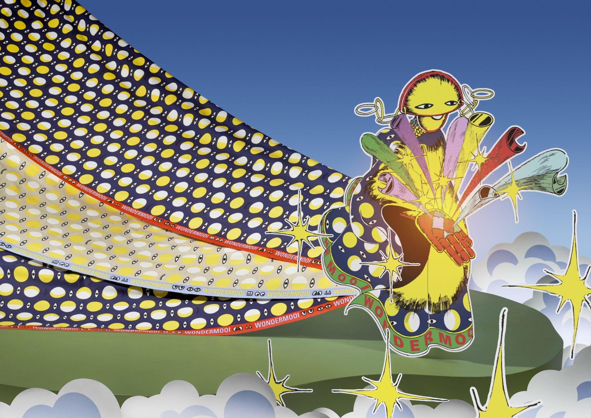 Esto es GLÖDANDE, una colección para IKEA desarrollada en colaboración con el diseñador de moda Walter Van Beirendonck.