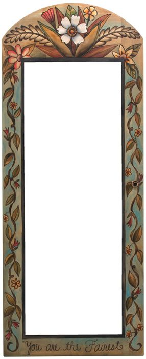 Sticks Wall Mount Jewelry Cabinet with Mirror 5317 by Sticks   Sticks Furniture, Home Decorative Accents