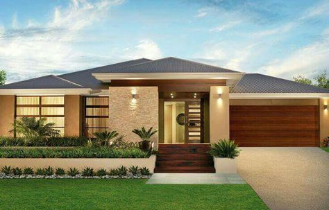 Fachada Facade House Contemporary House Plans House Designs Exterior