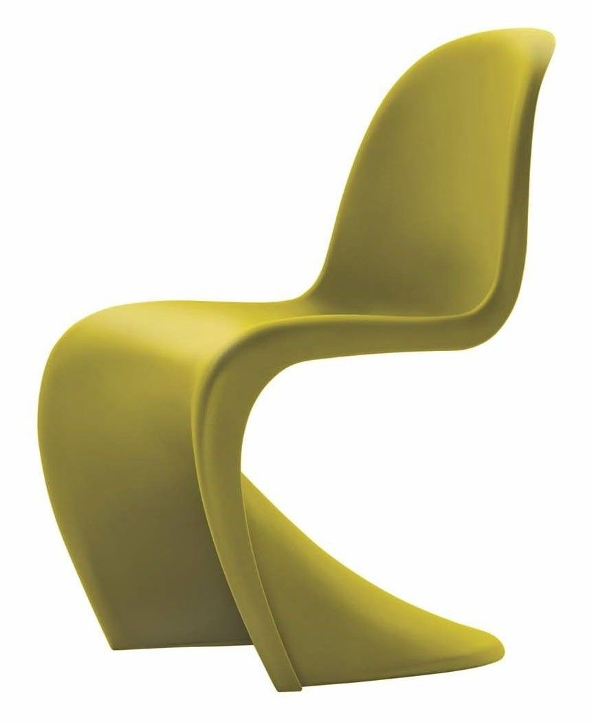 Vitra Panton Chair Panton Chair Yellow Dining Chairs Modern Chairs