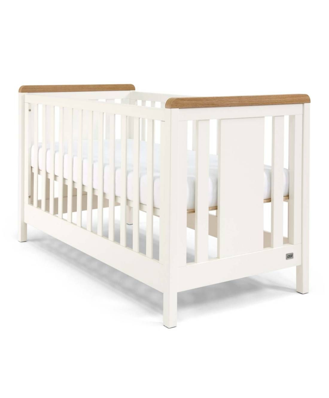 494bdb3ddf4 Kingston Cot/Day/Toddler Bed - White/Oak | For the Home | Toddler ...