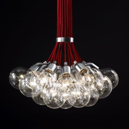 Lámpara para un techo alto
