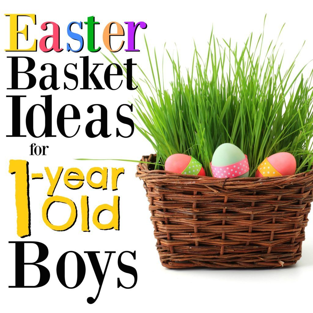 The best easter basket ideas for 1 year old boys easter and easter these gift ideas for 1 year old boys will make easter so much fun in your negle Images