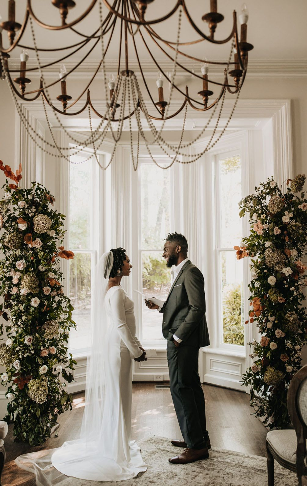 Classy Home Wedding Inspiration Turned Real Life Vow Renewal In 2020 Home Wedding Inspiration Wedding Inspiration Home Wedding