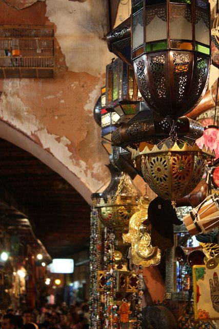 Marrakech, Morocco - The only thing missing is is the shisha and some bab ghanoush