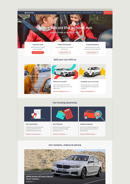 Studio Output / Auto Trader   UIUX   Pinterest