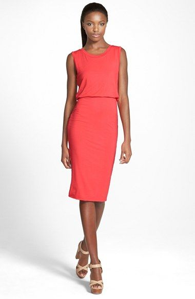 14a4eb61ae Leith Sleeveless Midi Dress