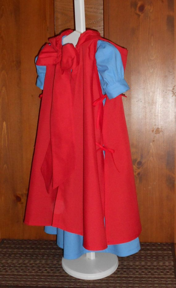Little Red Riding Hood Costume Cosplay By Wendalynnedesigns With
